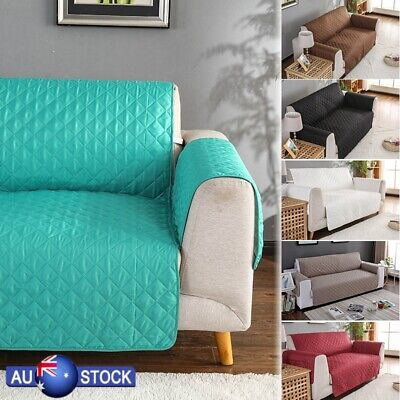 Couch Sofa Protector Lounge Cover Anti-slip Slipcover for Pet Kid 1/2/3 Seat AU