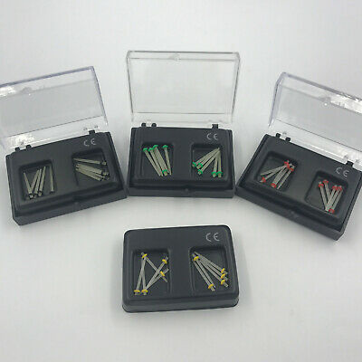 Dental Fiber Post Glass Set Refill Drill Thread Files 1.2/1.4/1.6/1.8 Straight