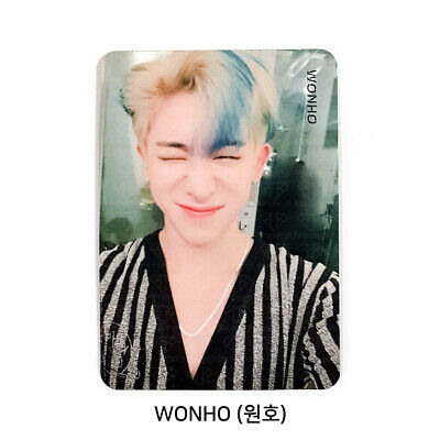 MONSTA X - 2nd Album Take.2 'We Are Here' Official Photo card - WONHO #01