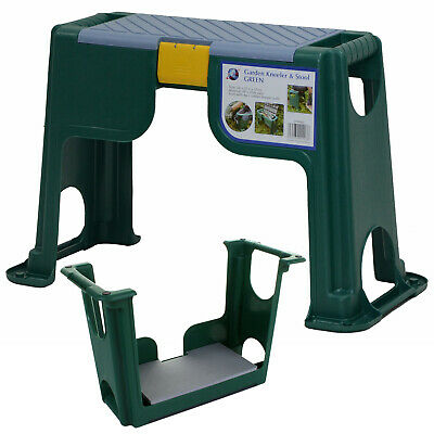 3in1 Portable Garden Kneeler Foam Knee Pad Gardening Tool Box Storage Seat Stool
