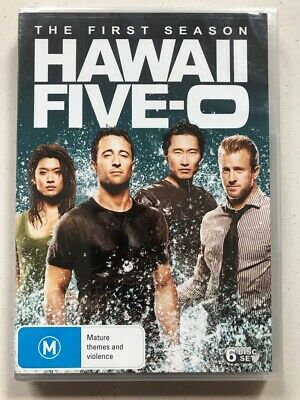 Hawaii Five-0 : Complete Season 1 (DVD, 2011, 6-Disc) Region 4- NEW & SEALED