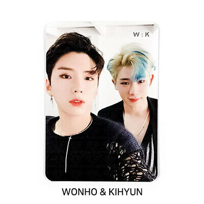 MONSTA X - 2nd Album Take.2 'We Are Here' Official Photocard - UNIT W:K