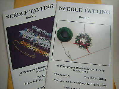 Needle Tatting Book 1 and 2 by Barbara Foster NEW