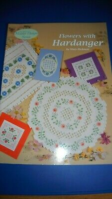 Flowers With hardanger (Mary Hickmott's master class series) by Hickmott, Mary