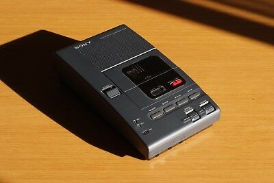 SONY M-2000 Micro cassette Transcriber Dictation, Made in Japan, Rare, Vintage