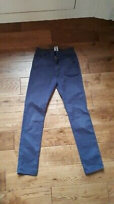 74933708fa NEXT NAVY CHINOS- skinny fit plus! Age 14 years. - £2.00 | PicClick UK