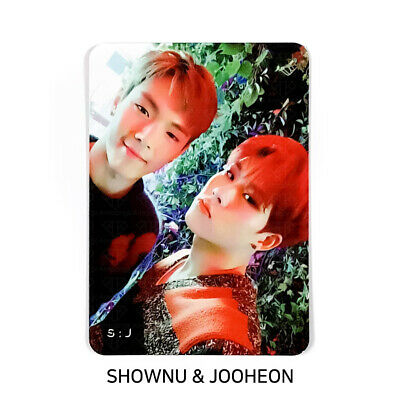 MONSTA X - 2nd Album Take.2 'We Are Here' Official Photocard - UNIT S:J