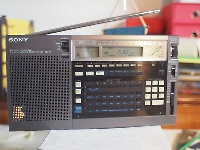 Sony ICF-2001D  Portable short-wave receiver