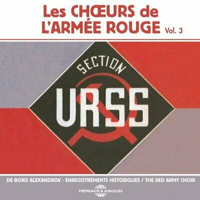 Red Army Choir-Les Choeurs De Larmee Rouge Vol 3 (US IMPORT) CD NEW