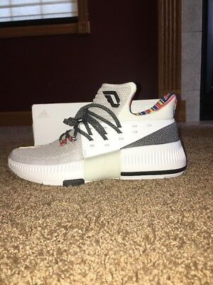 "info for 1739d 26536 Adidas D Lillard 3 BHM ""Arthur Ashe"" Size 9 480 Of 1975 BY3474"