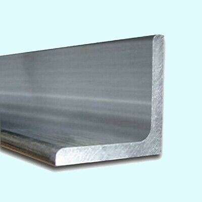 T6511 Mill Stock 1 x 1 Aluminum Angle 6061 1//8 Thick 24 Length