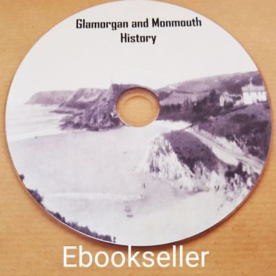 Glamorgan & Monmouth History & Kelly's & Wales directories in pdf ebooks on disc