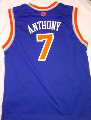 ADIDAS NBA YOUTH New York Knicks Carmelo Anthony  7 Crazy Light ... 897b42687