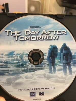 The Day After Tomorrow (DVD, 2004)Full Screen Disc only