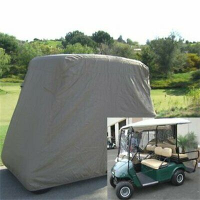 4 Passenger Golf Golf Cart Cover Fits EZ GO, Club Car, Yamaha, Eagle, Taupe G3