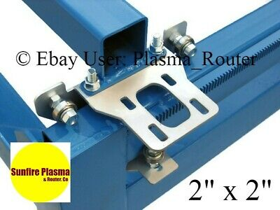 Cnc Carriages For Plasma / Router Table Cnc Gantry Kit For Nema 23 Steppers 2X2