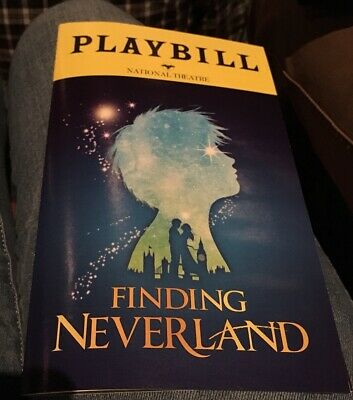FINDING NEVERLAND PLAYBILL BROADWAY Musical Show National Theatre DC March 2019