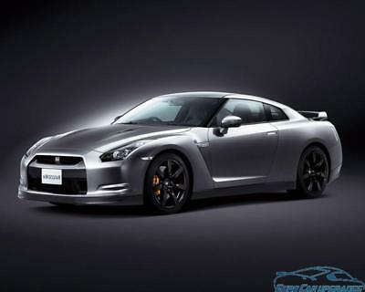 Nissan GT-R 2007 - 3.8L V6 TT ECU remap +40 BHP +140 Nm Chip Tuning