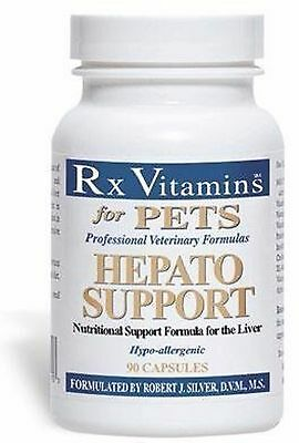 Rx Vitamins for Pets Hepato Support 90 caps - Exp Date 07/2021