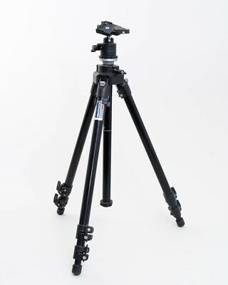 Bogen Manfrotto Photography Tripod #3221 Telescoping Legs with Generic Ball Head