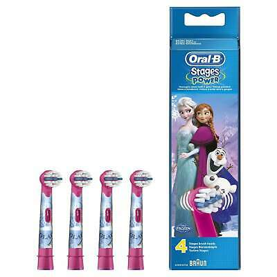 Braun Oral-B Stages Power 4 Frozen Replacement Toothbrush Heads [90534582]