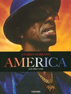 """Andres Serrano """"America"""" and other work, hardcover, Taschen"""