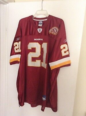 Sean Taylor Washington Redskins Jersey 75th Anniversary Reebok Authentic 83eb5d5a9