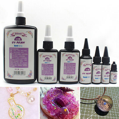 10-60g Epoxy UV Resin Ultraviolet Curing Solar Cure Sunlight Activated Hard BHQ