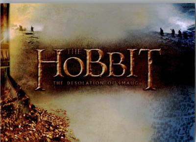 The Hobbit The Desolation Of Smaug Base Set Trading cards - 72 Cards