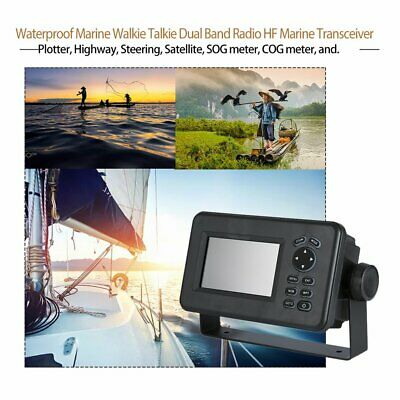 4.3 Inch LCD Marine GPS Navigator Combo With AIS Transponder HP528 Receiver MpOX