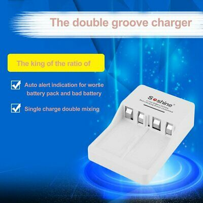 V1-9V LCD Li-ion/Ni-MH/Rechargeable Battery Charger for Soshine EU/US Pl NQ