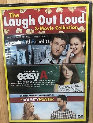 3 Movie Collection DVD The Bounty Hunter/Easy A/Friends With Benefits NEW SEALED