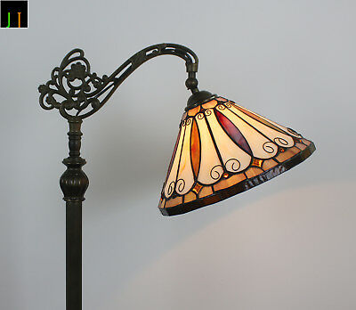 Artwork Tiffany Stained Glass Felice Style Art Deco Hanging Floor Lamp
