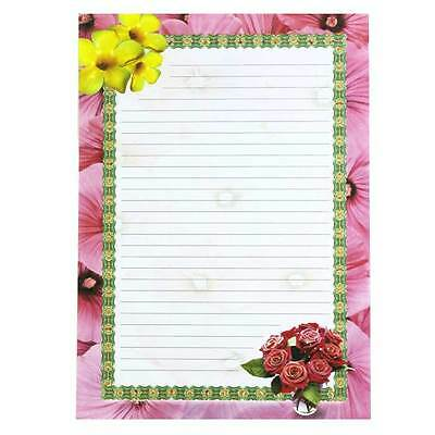 Floral Writing Paper - A4 8 Designs