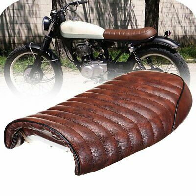 Universal Cafe Racer Seat Waterproof Leather Padded with Sponge for Honda CG TEG