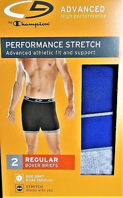 Pack of 2 Mens Premium Performance Boxer Brief Underwear Music is The Key