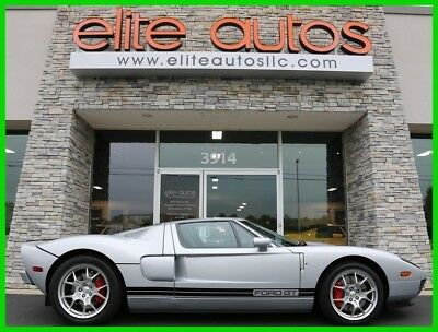 2005 Ford Ford GT  2005 FORD GT Rare Quick Silver ONLY 850 MILES McIntosh Stereo BBS WHEELS Stripes