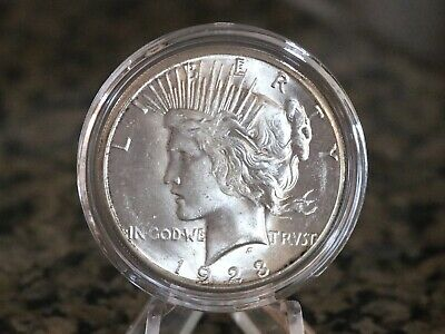 1923-S Peace Silver Dollar 90% Silver, No Reserve & Free Shipping!