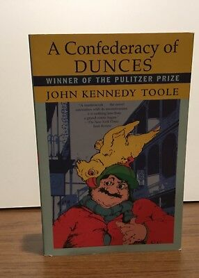 A Confederacy of Dunces PAPERBACK by John Kennedy Toole Grove Press