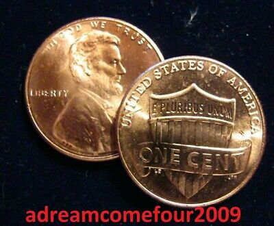 (2) 2019-P Lincoln Shield Cents Penny TWO Total Coins BU - Philadelphia ONLY