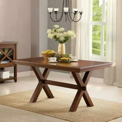 Better Homes & Gardens Maddox Crossing Rectangle Dining Table Brown