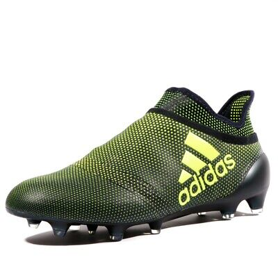 sports shoes 507f2 d85b2 X 17+ Purespeed FG Homme Chaussures Football Noir Jaune Adidas