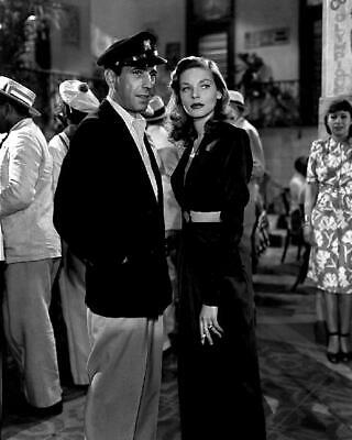 Humphrey Bogart Lauren Bacall To Have and Have Not 8x10 Photo (HB-57)
