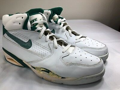competitive price 0ad97 e2835 VTG 1992 Nike Air Force Basketball Shoes OG 90s Pippen Green White Mens 14