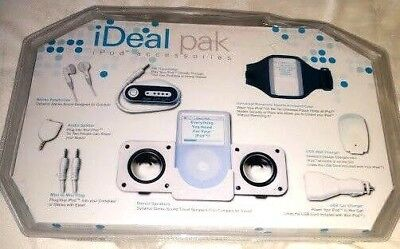 NEW! EIGHT (8)  iPOD ACCESSORIES BUNDLED BY IDEALPAK  IN SEALED PACKAGE