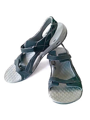 Black Tech Euc Lite Size Gray Hiking Columbia Sandals 8 Womens ZOkuXTPi