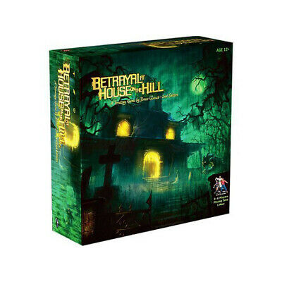 Betrayal At House On The Hill Board Game Cards