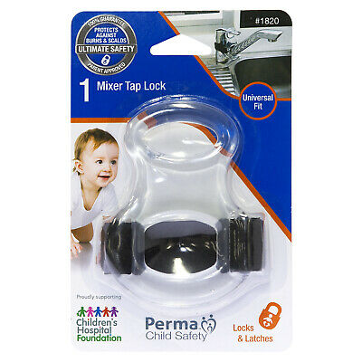 Perma Child Safety Mixer Tap Lock Universal Fit And Easy To Install