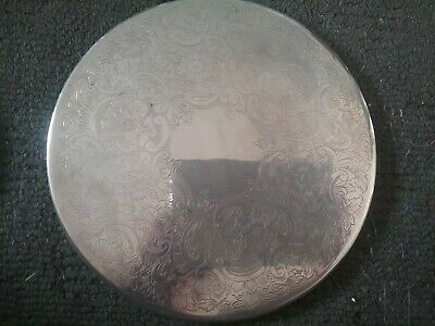 Set Of 11 Silver Vintage Strachan Placemats
