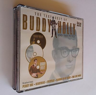 The Very Best of BUDDY HOLLY & The Picks (3-Disc, CD) NEW